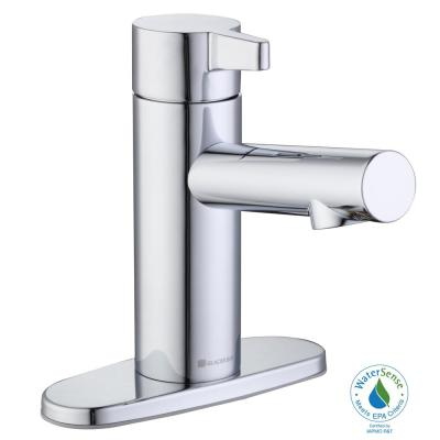 Modern Single Hole Touchless Bathroom Faucet in Chrome