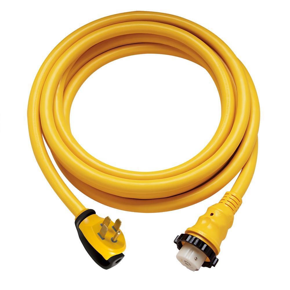 25 ft. 50 Amp 125/250-Volt Power Cord Plus Cord Set (4-Wire)