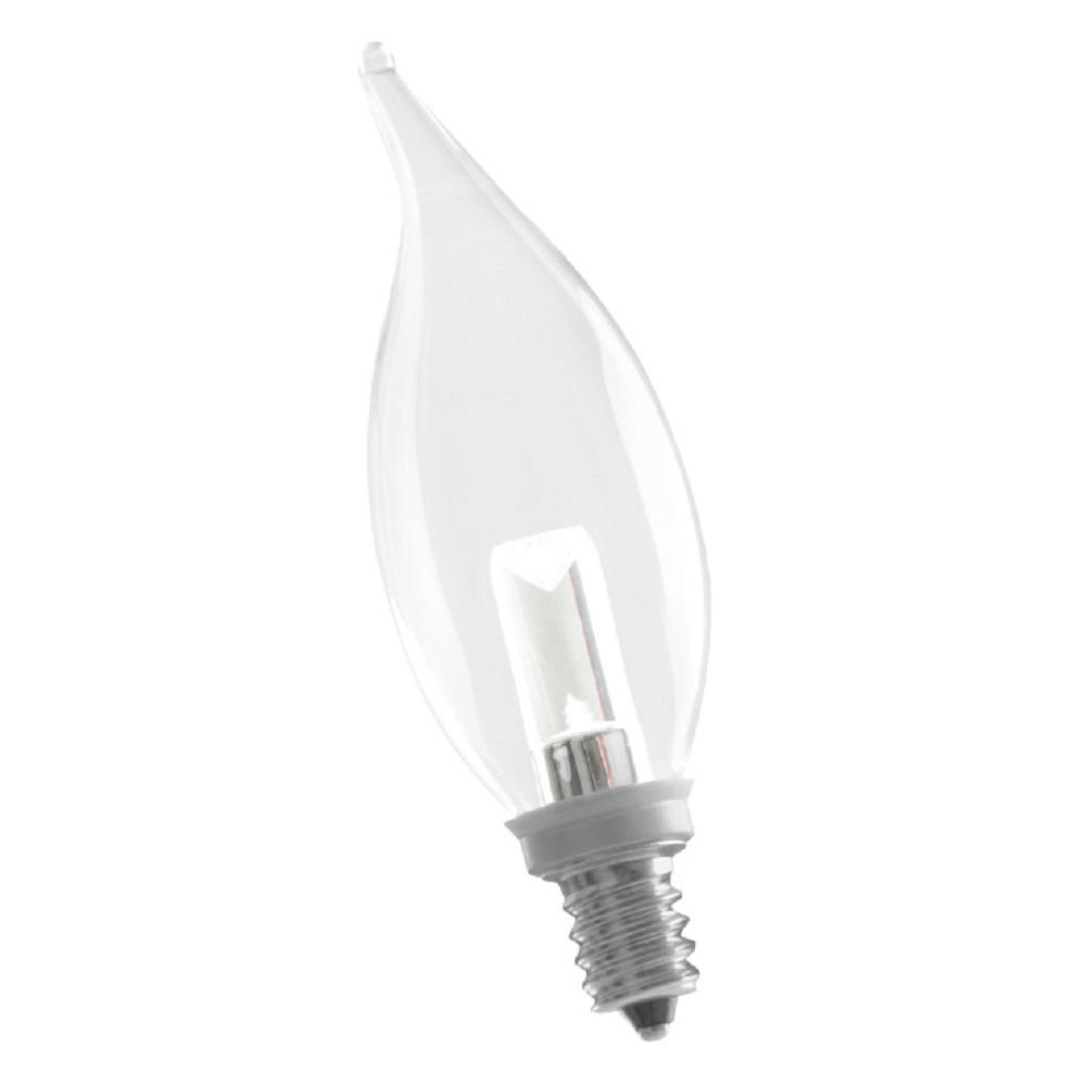 10W Equivalent Soft White CA10 Dimmable LED Light Bulb