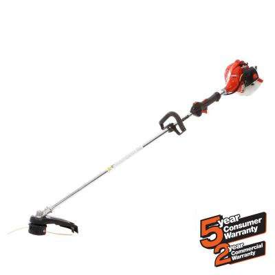 21.2cc Gas 2-Stroke Cycle Straight Shaft Trimmer