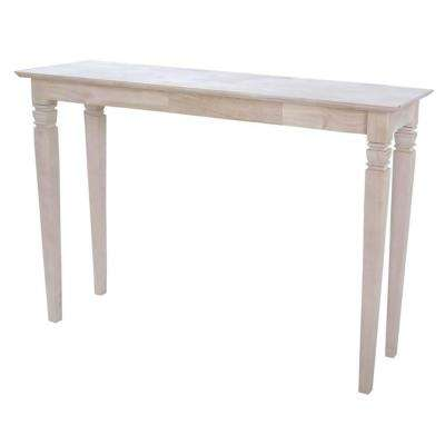Java Unfinished Console Table