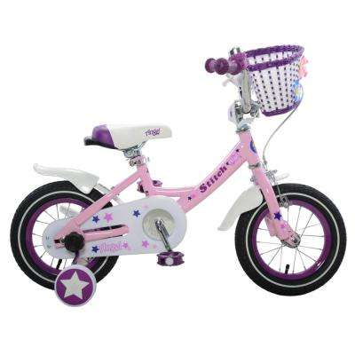 Angel Girl's Bike, 12 in. wheels, 7 in. frame in Pink