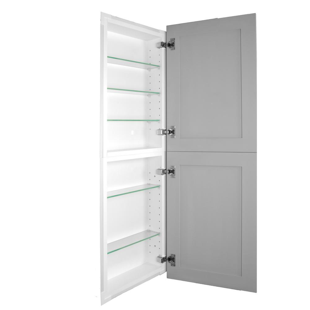 Silverton 14 In X 44 4 Frameless Recessed Medicine Cabinet Pantry