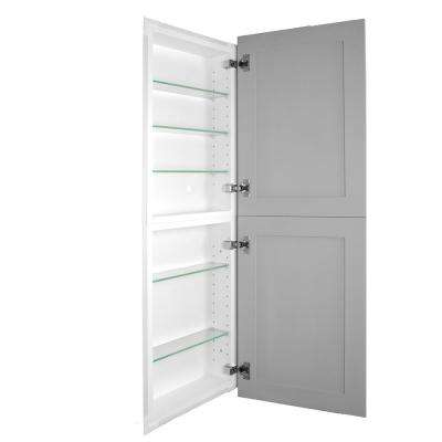 Silverton 14 in. x 44 in. x 4 in. Frameless Recessed Medicine Cabinet/Pantry