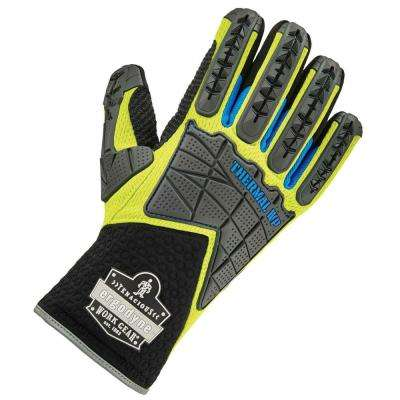 ProFlex Large Performance Dorsal Impact Reducing Thermal Waterproof Gloves