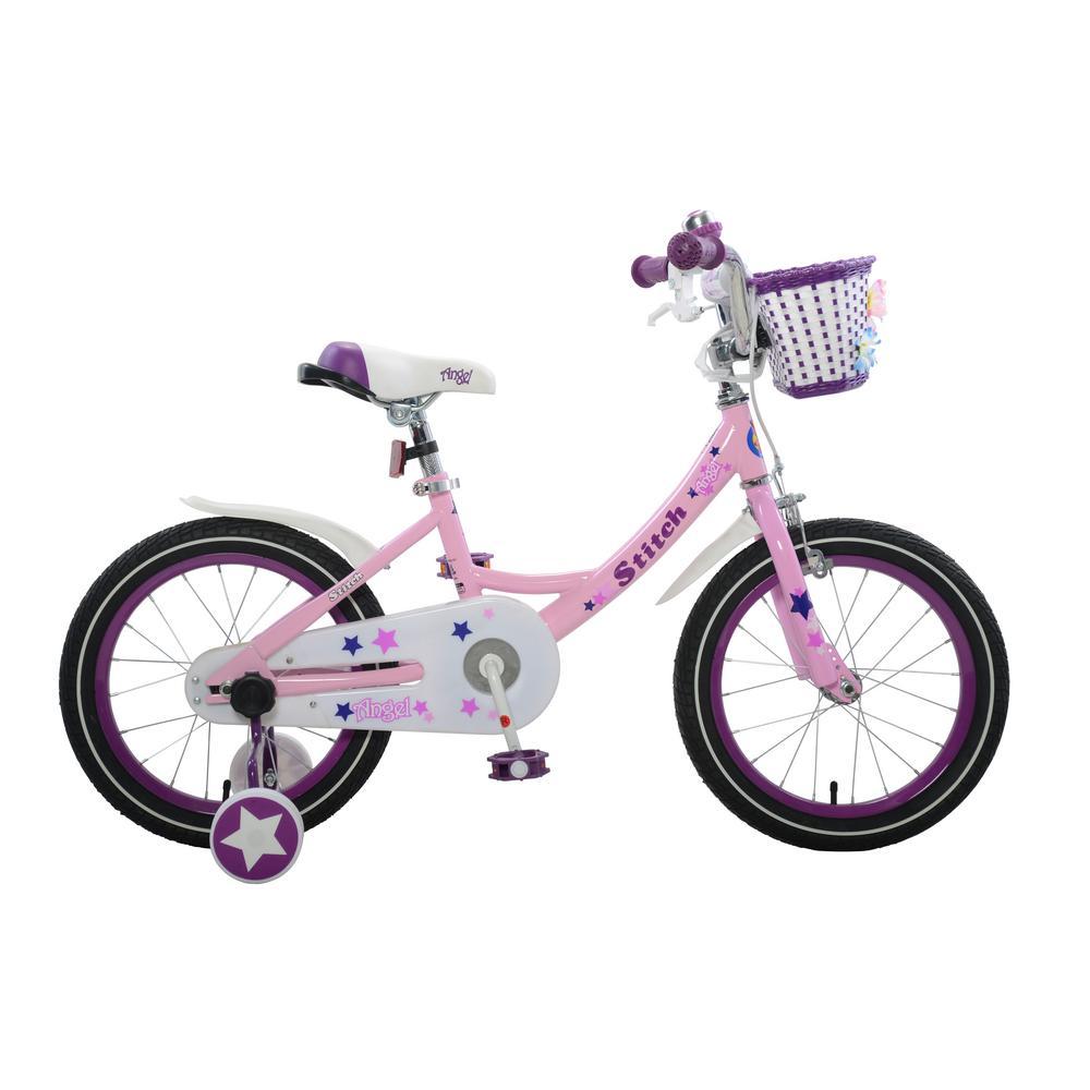 Angel Girl's Bike, 16 in. wheels, 9 in. frame in Pink, Re...