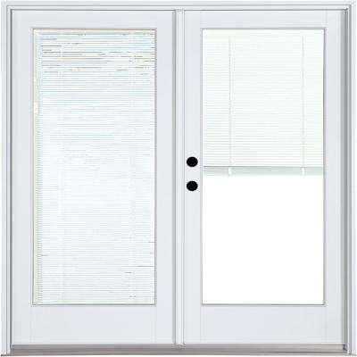 Blinds between the glass patio doors exterior doors the home fiberglass smooth white right hand inswing hinged patio planetlyrics Gallery