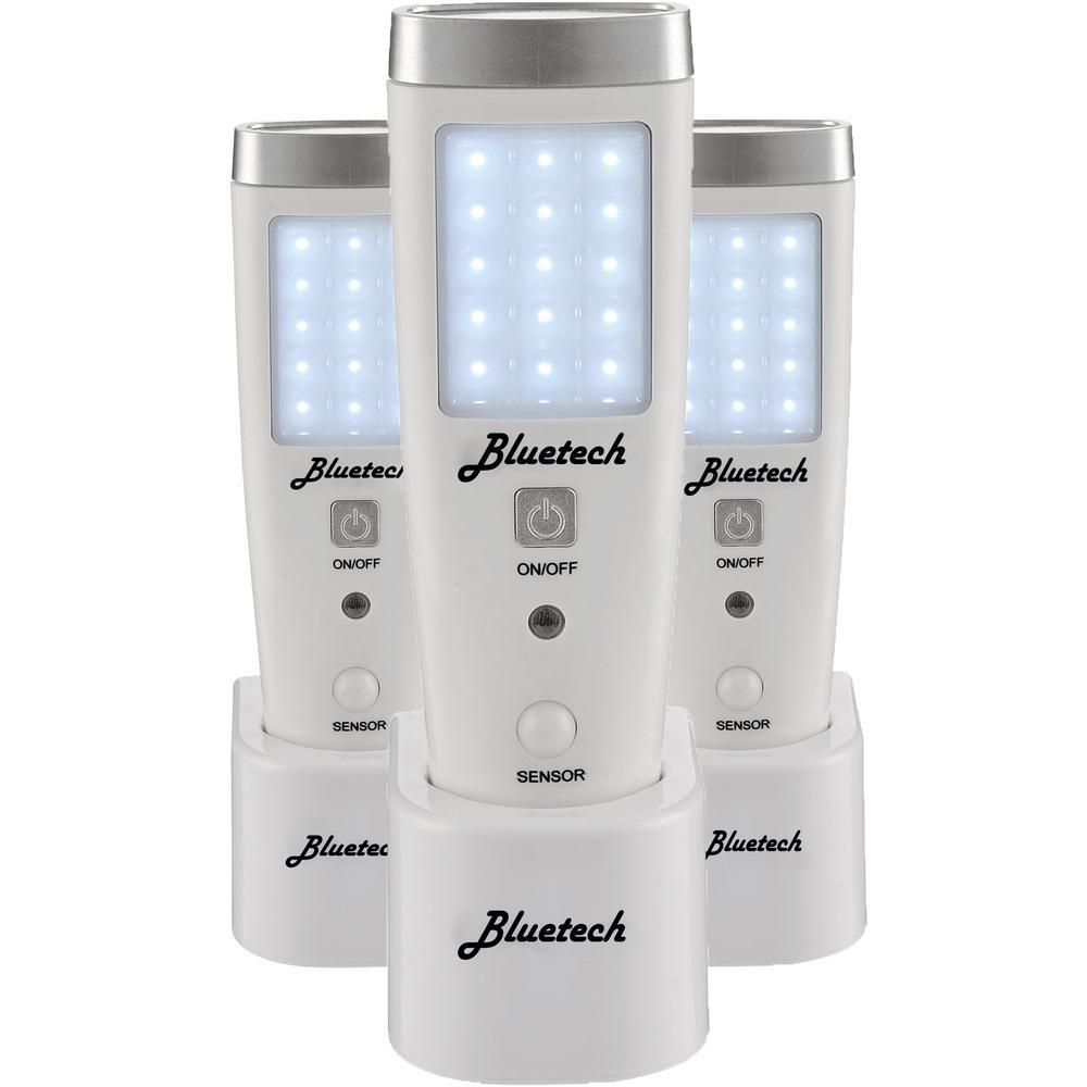 LED Flashlight/Night Light for Emergency Preparedness, Portable Unit with Motion Detection (3 per Box)