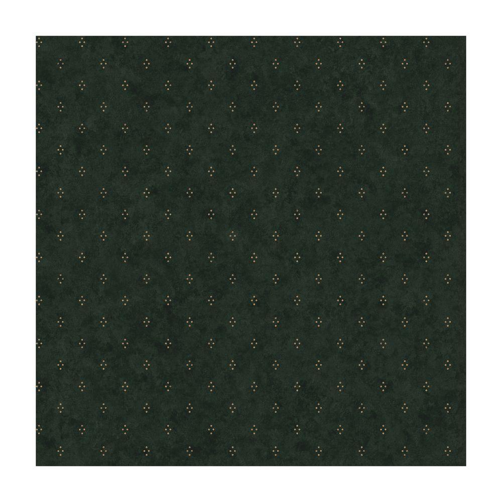 York Wallcoverings Crackle Dot Wallpaper