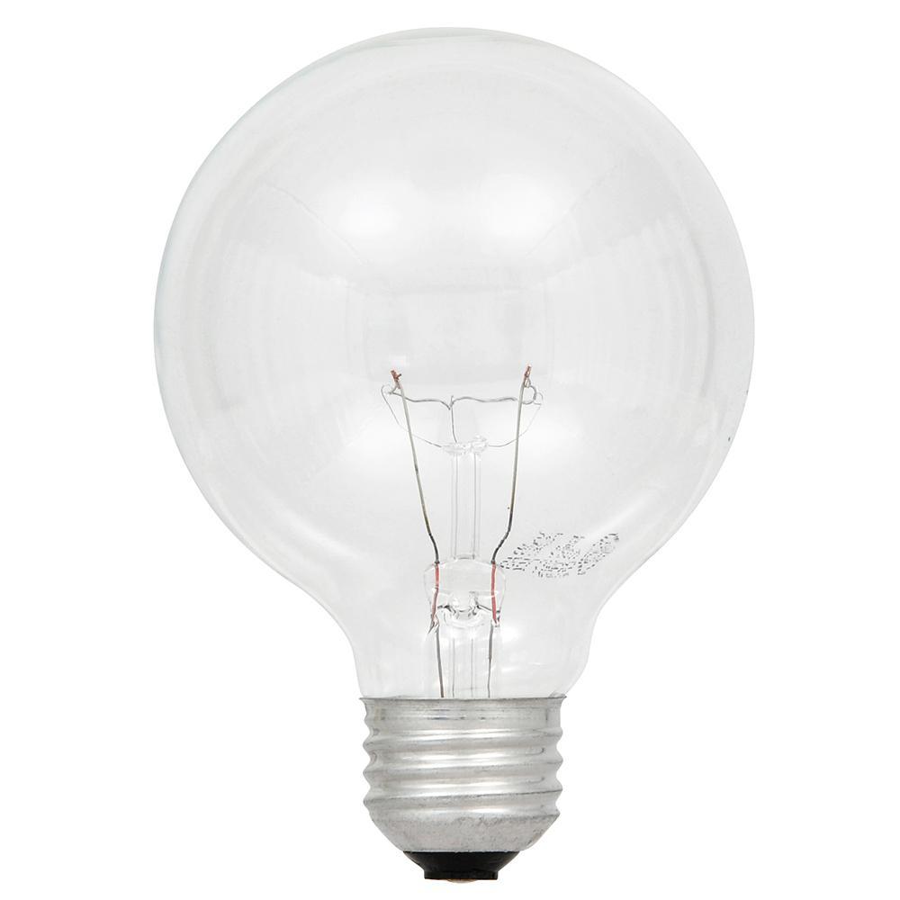60-Watt Double Life G25 Incandescent Light Bulb (2-Pack)