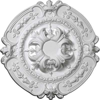 16-3/8 in. OD x 1-3/4 in. P (Fits Canopies up to 2-3/4 in.) Southampton Ceiling Medallion