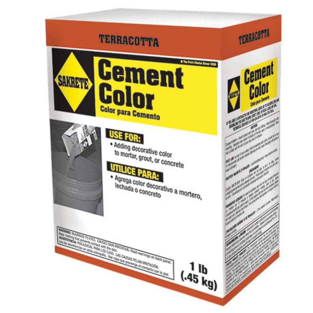 1 lb. Cement Color Terracotta
