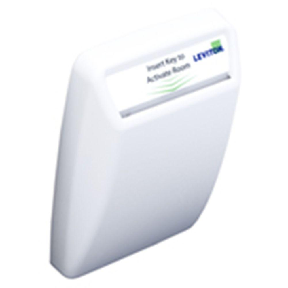 Leviton LevNet RF Enabled by EnOcean Wireless Key Card Remote Switch - White-DISCONTINUED
