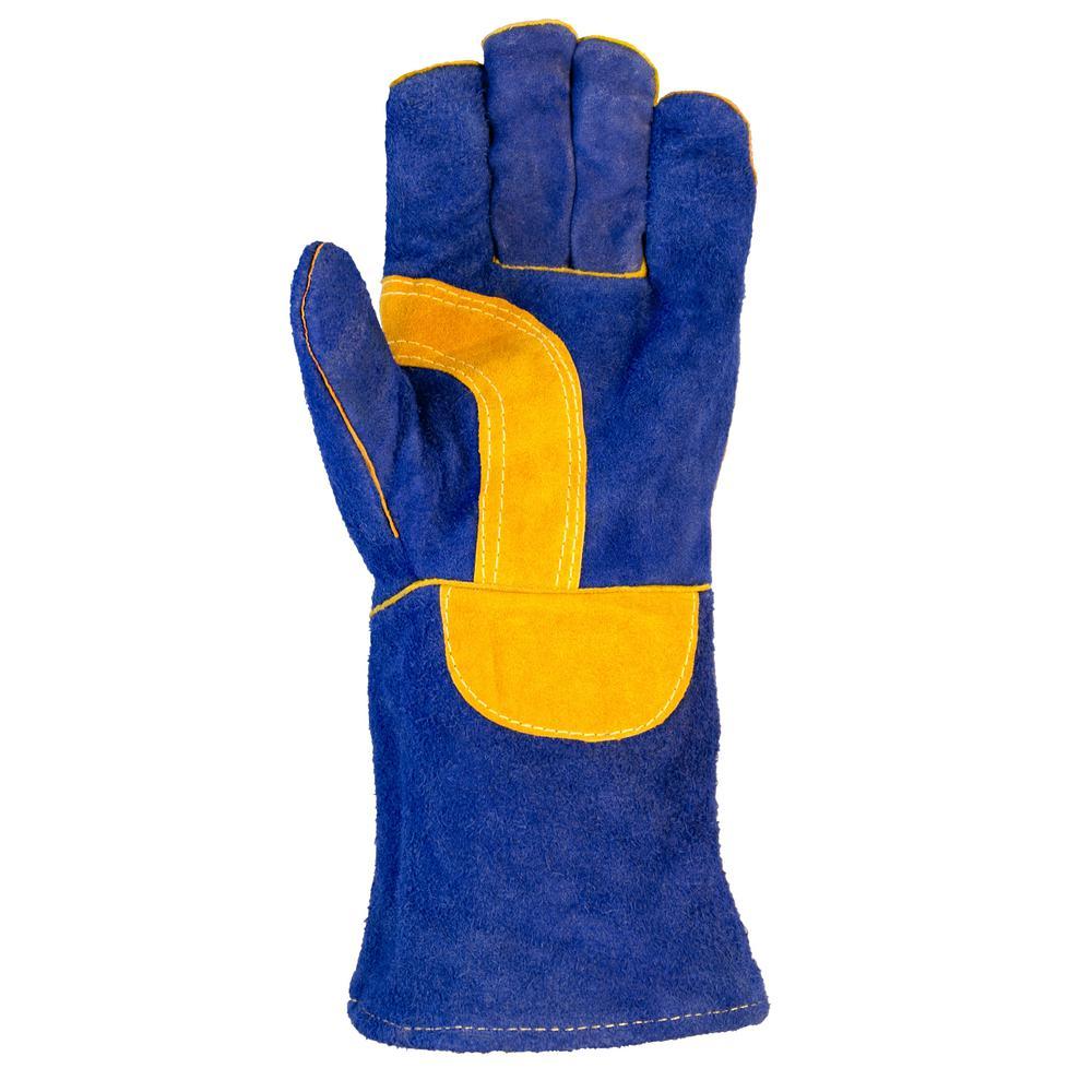 Xlarge Blue WeldMax Gloves