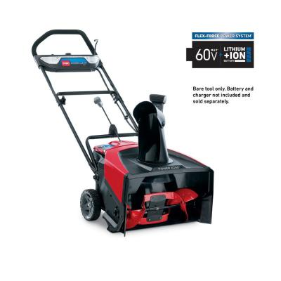 Power Clear 21 in. 60-Volt Lithium-Ion Brushless Cordless Electric Snow Blower - Battery and Charger Not Included