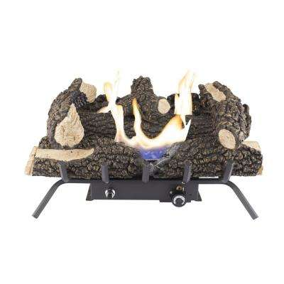 Wildwood 24 in. Vent-Free Dual Fuel Gas Fireplace Logs