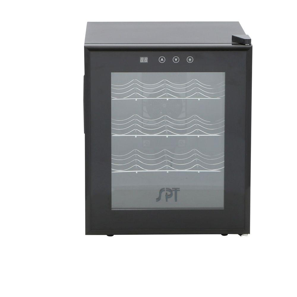 16-Bottle Thermoelectric Wine Cooler with Heating