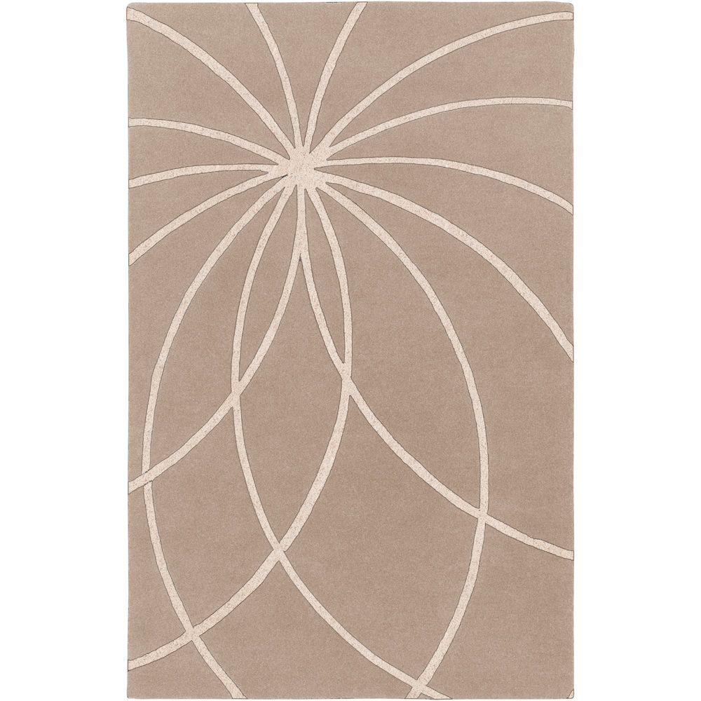 Artistic Weavers Aisha Safari Tan 4 ft. x 6 ft. Area Rug