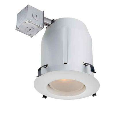 5 in. White Recessed Open Kit