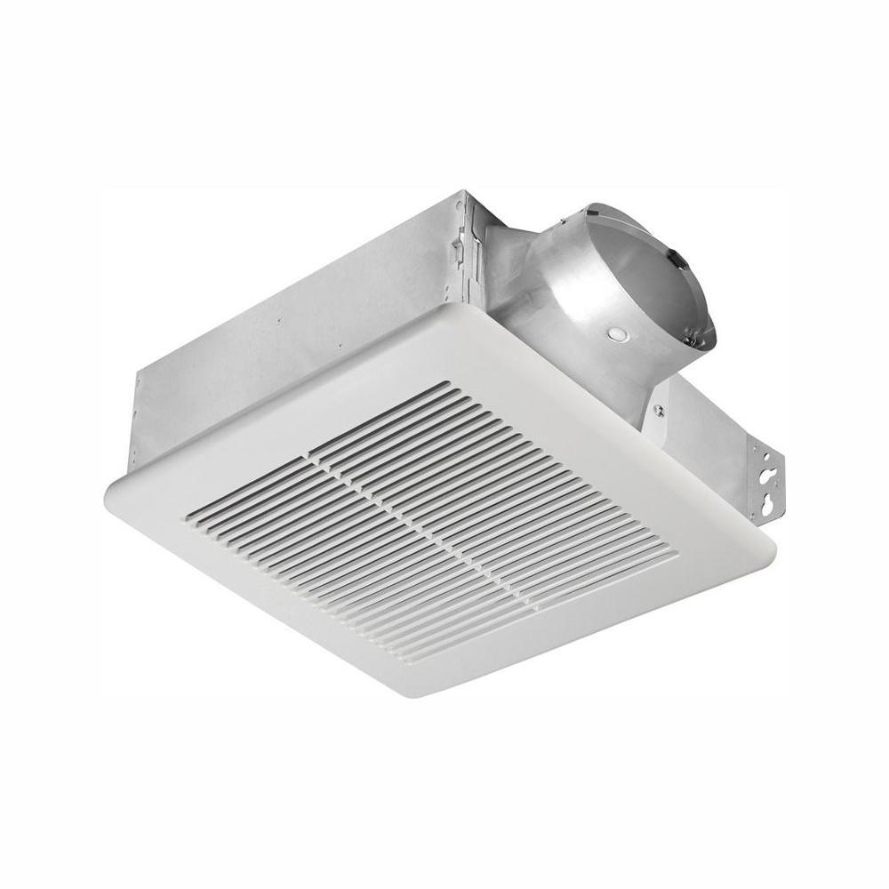 Delta Breez Slim Series 80 CFM Ceiling or Wall Bathroom Exhaust Fan, ENERGY STAR