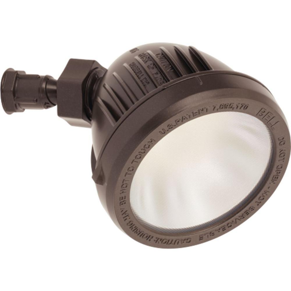 13-Watt Antique Bronze Outdoor Integrated LED Flood Light