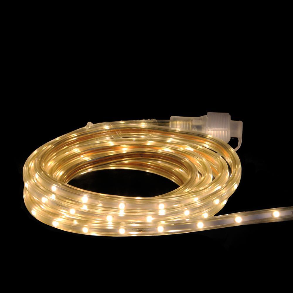10 ft. 60-Light Warm White LED Indoor/Outdoor Christmas Linear Tape Lighting