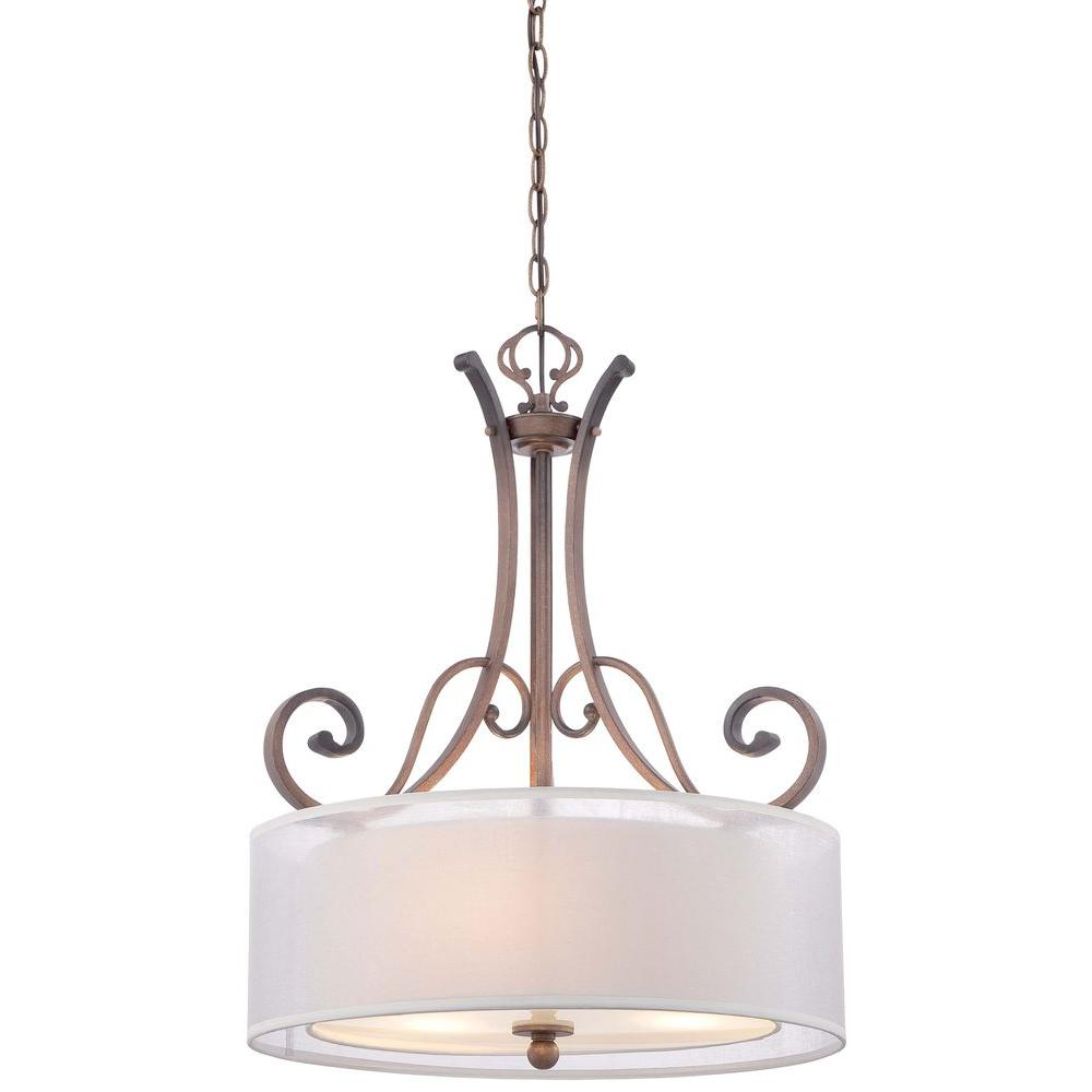 MINKA Lavery 3-Light St. Johns Gold Pendant