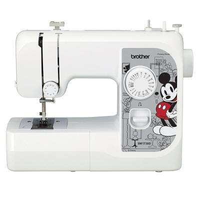 17-Stich Full Size Sewing Machine with Disney Interchangeable Faceplates
