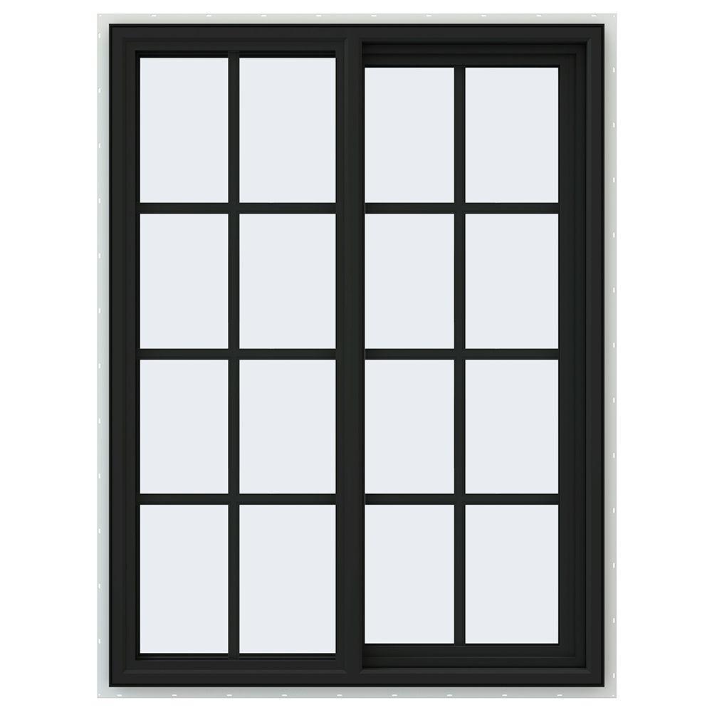 35.5 in. x 47.5 in. V-4500 Series Right-Hand Sliding Vinyl Window
