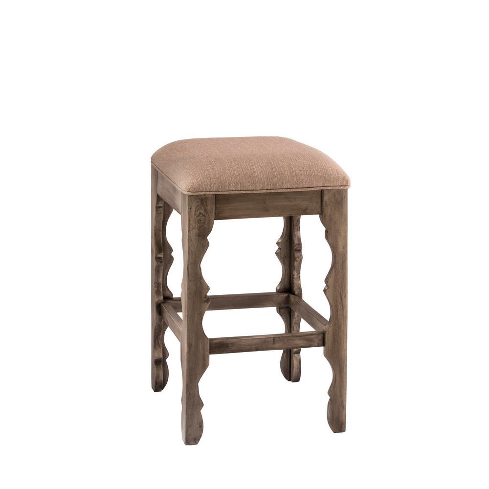 Hillsdale Furniture Carrara 24 In Graywash Cushioned