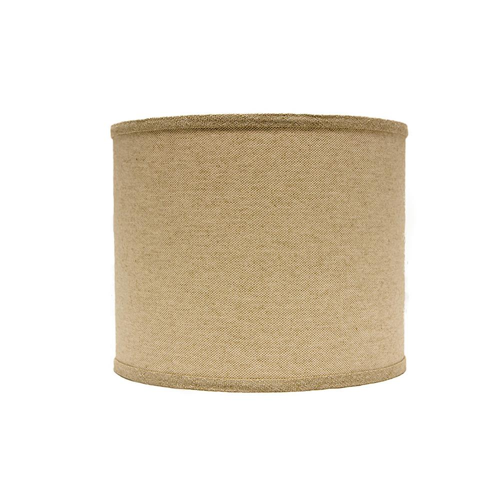 Homestyle 8 In X 9 In Neutral Brown Lamp Shade Sd1438
