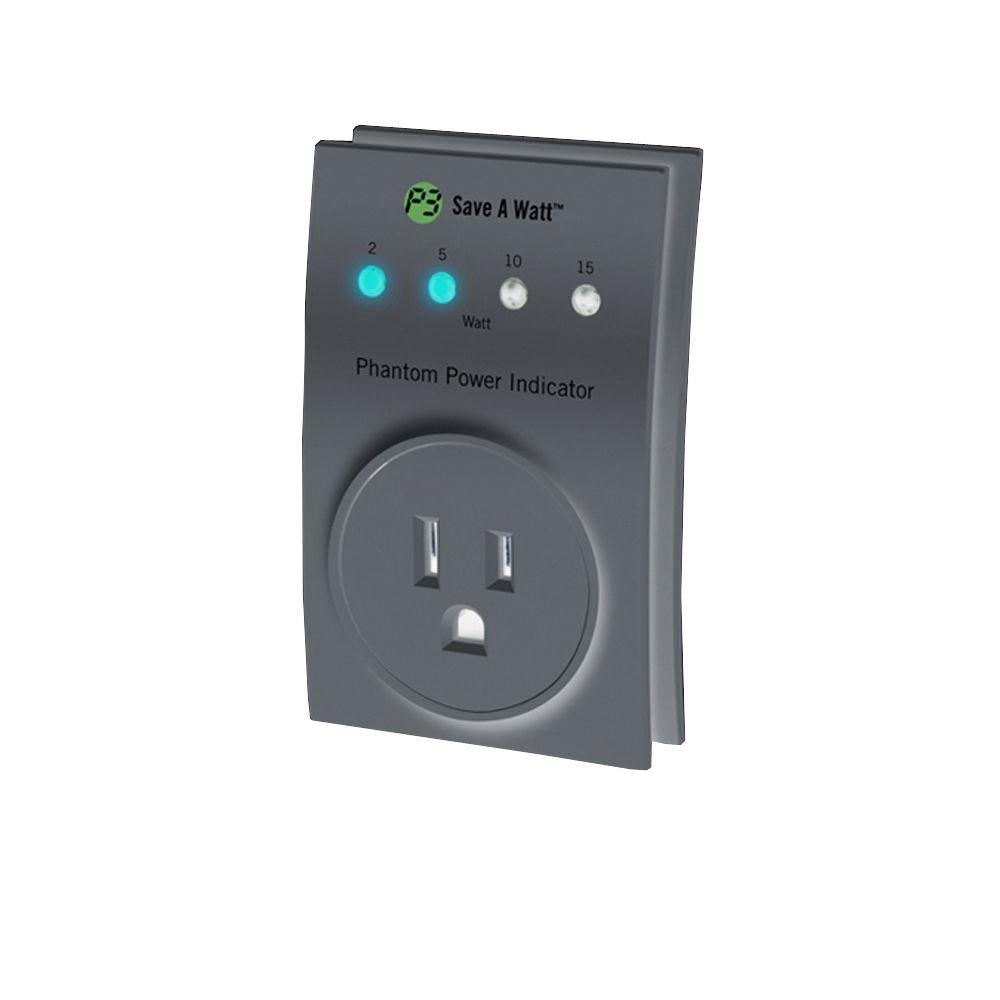 P3 INTERNATIONAL Save-A-Watt Phantom Power Indicator