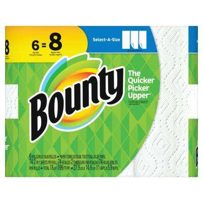 Select-A-Size White Paper Towels (6-Big Rolls)