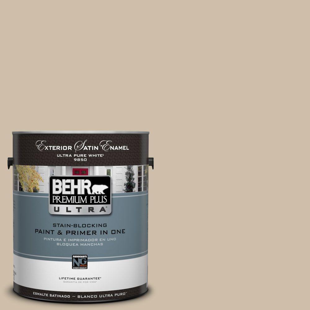 BEHR Premium Plus Ultra 1-Gal. #UL170-7 Cabo Satin Enamel Exterior Paint