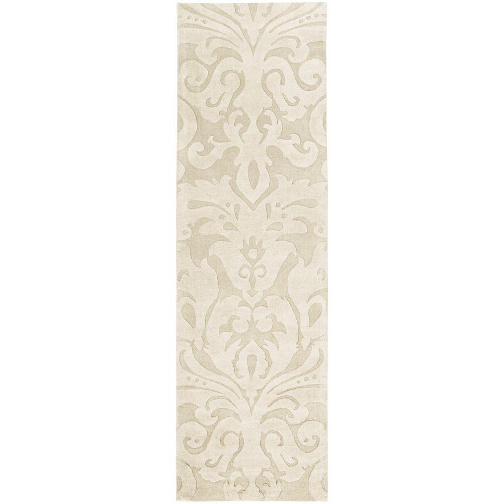 Candice Olson Ivory 2 ft. 6 in. x 8 ft. Rug