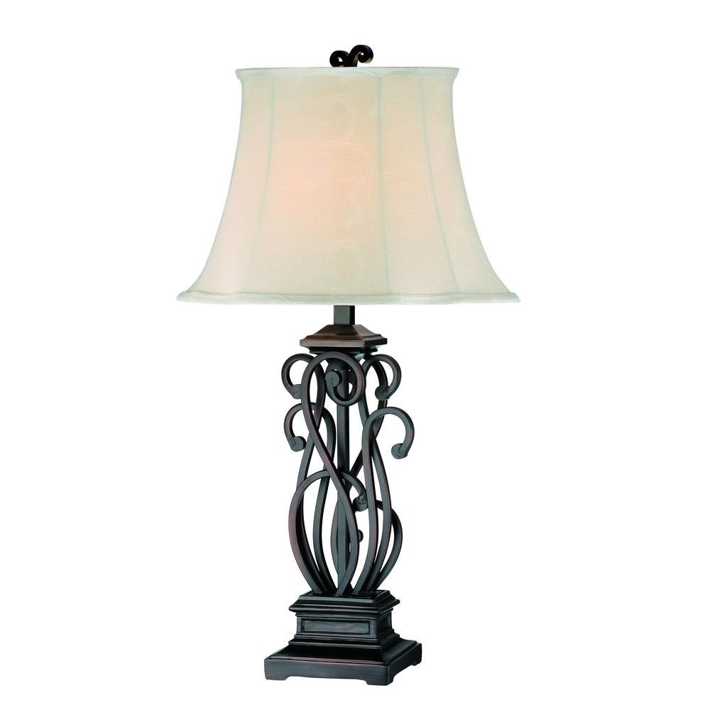 Filament Design Sonoma 32.5 in. Bronze Table Lamp (Set of 2)