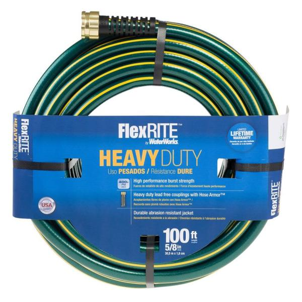 FlexRITE 5/8 in. Dia x 100 ft. Water Hose