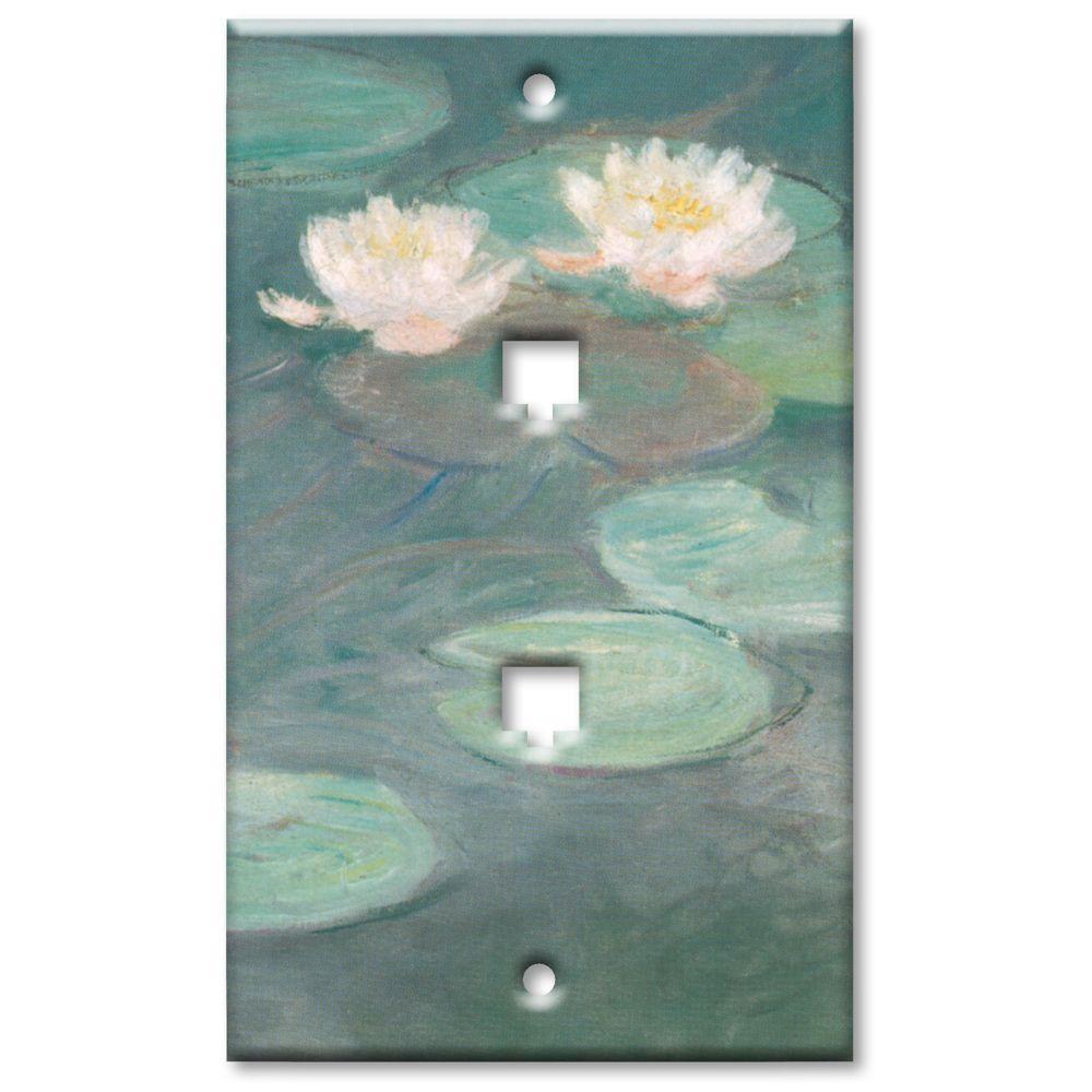 Art Plates Van Gogh Almond Blossoms 2 Cat5 Wall Plate