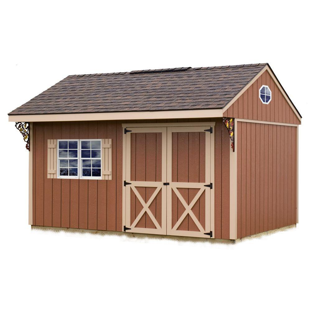 Best Barns Northwood 10 ft. x 14 ft. Wood Storage Shed Kit
