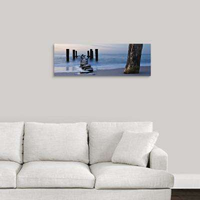 """Silver Sands"" by May Art Canvas Wall Art"