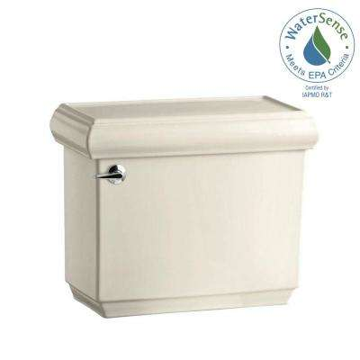 Memoirs 1.28 GPF Single Flush Toilet Tank Only with AquaPiston Flushing Technology in Almond