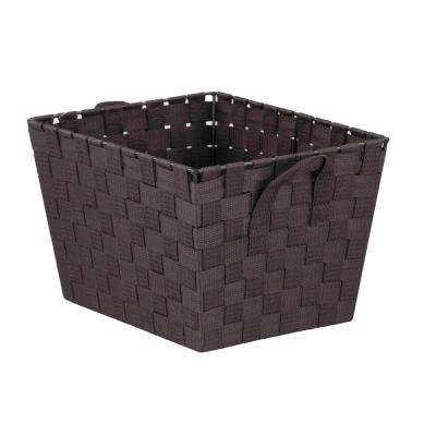 10 in. x 8 in. Brown Non Stackable Bin