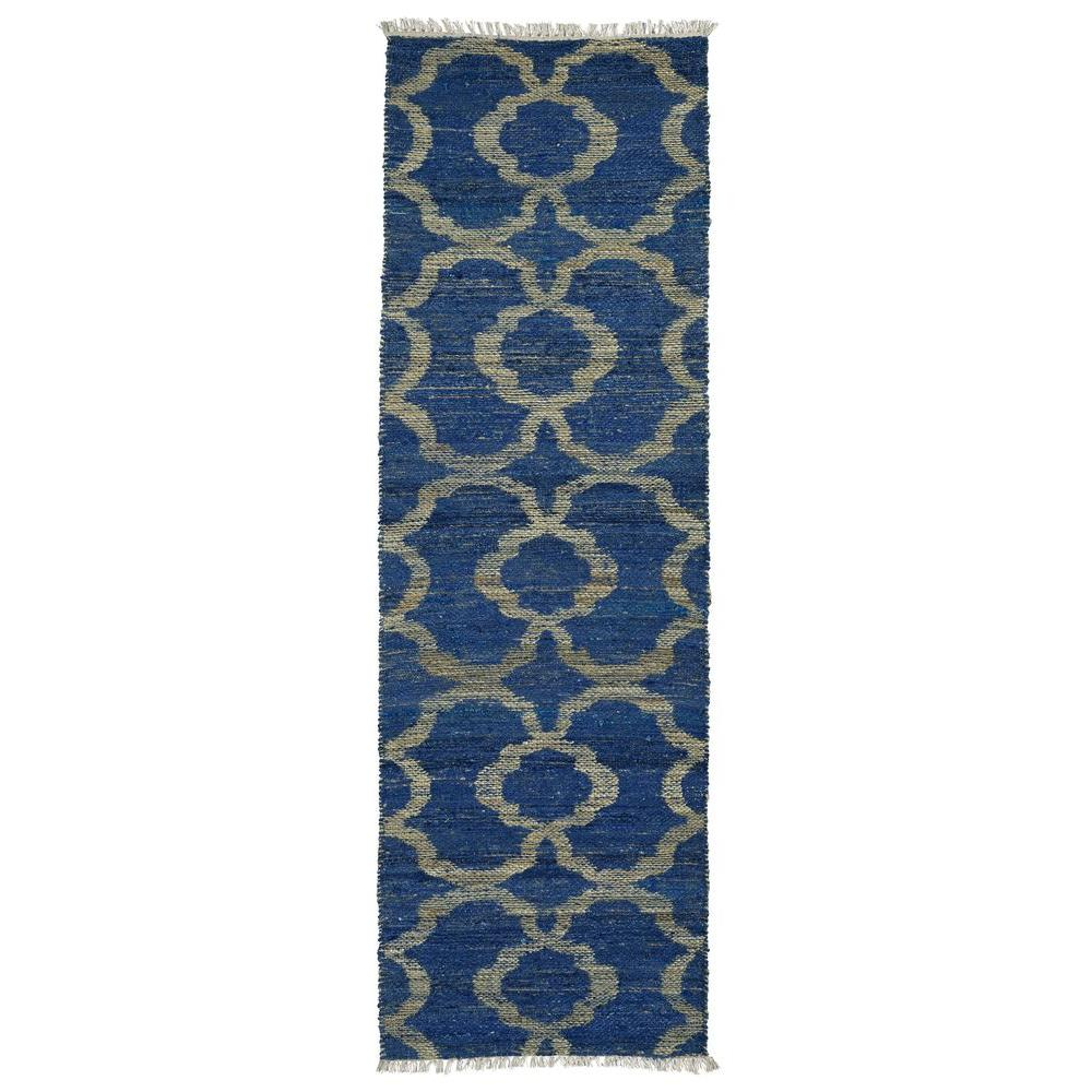 Kenwood Blue 2 ft. 6 in. x 8 ft. Double Sided