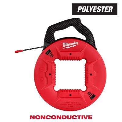 100 ft. Polyester Fish Tape with Non-Conductive Tip