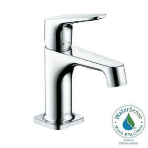 axor citterio m single hole 1handle lowarc bathroom faucet in chrome - Hansgrohe Faucets