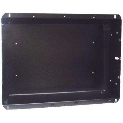 Com-Pak Twin Series Recess Mount Wall Can Only in Black