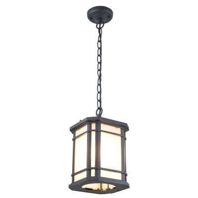 Aaliyah Black 1-Light Hanging Lantern