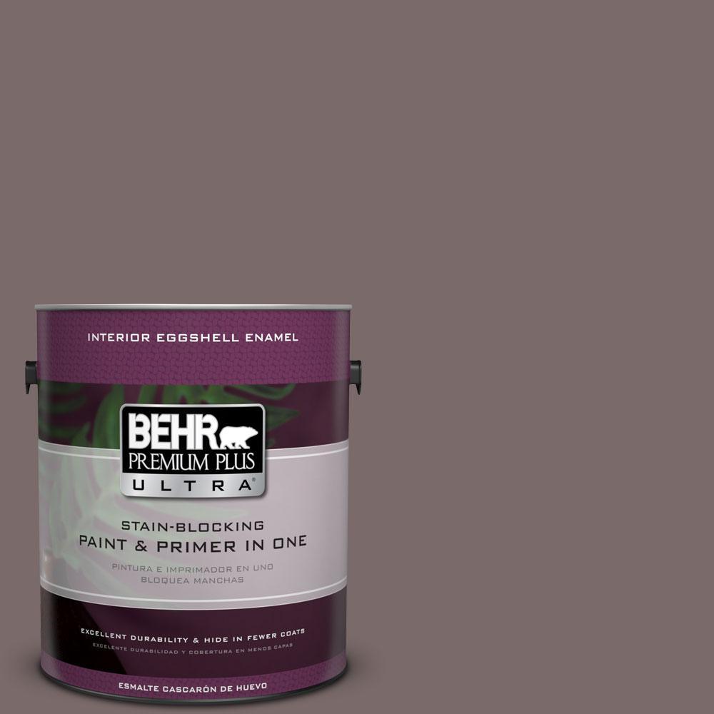 BEHR Premium Plus Ultra Home Decorators Collection 1-gal. #HDC-NT-26 Muscatel Eggshell Enamel Interior Paint