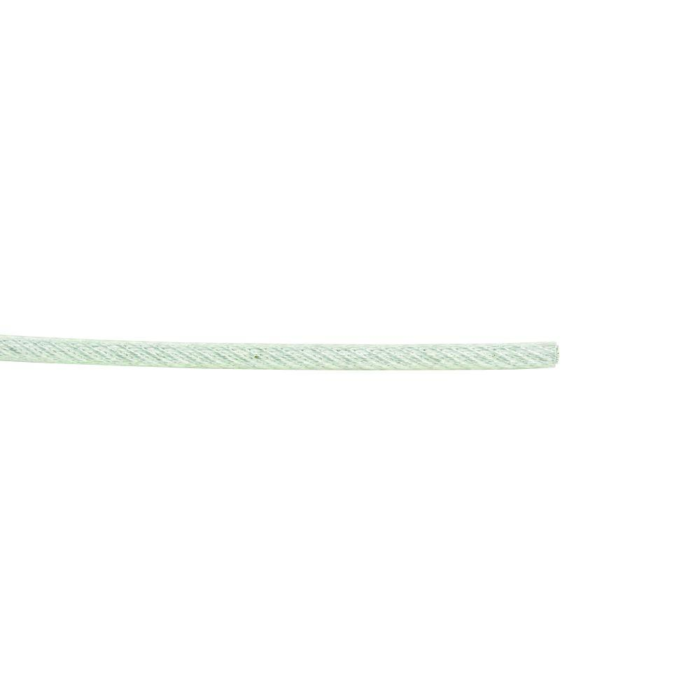 Everbilt #3/32 x 1ft. Galvanized Vinyl Wire Rope-806386 - The Home Depot