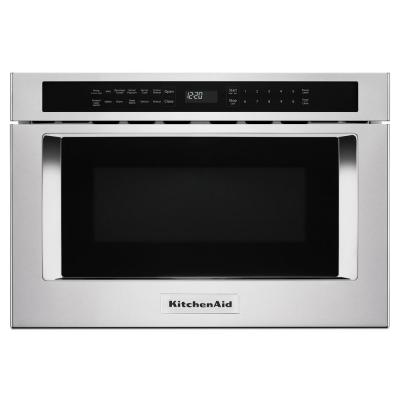 1.2 cu. ft. Under-Counter Microwave Drawer in Stainless Steel